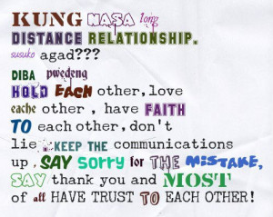 Long Distance Relationship Love Quotes Tagalog