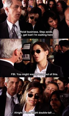 Miss Congeniality. Hilarious scene. :D More