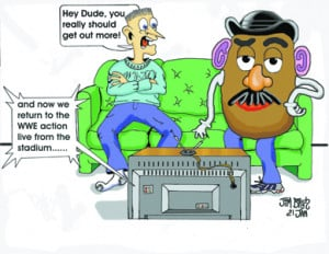 Weekly Cartoon - Couch Potato - Home - Mobile Adv