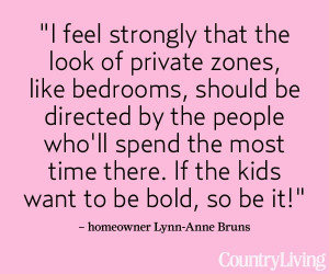 ... www.countryliving.com/homes/family-values #decorating #words #quotes