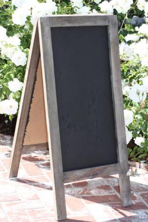 Chalkboard Sandwich Board Signs