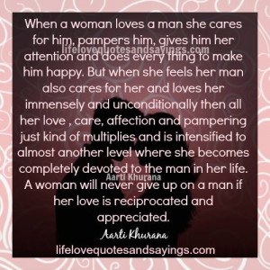 When A Woman Loves A Man..