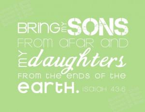 Bible Verses On Adoption