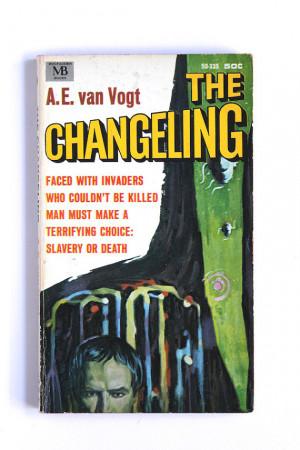 van Vogt, The Changeling, 1960s Vintage Science Fiction Fantasy ...