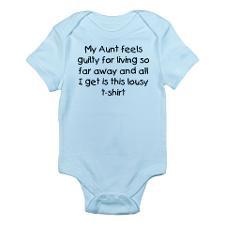 Aunt far away Infant Bodysuit for