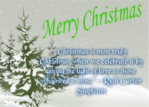 ... Is The Collection Of Famous Christmas Quotes For Children In 2014