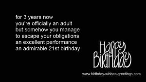 21st Birthday Quotes For Daughter Funny 21st birthday wishes