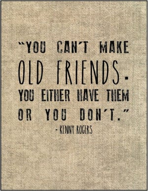 Old friends quote typography print Gift for best friend sister oldest ...