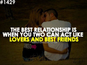 Lovers and Best Friends Quotes