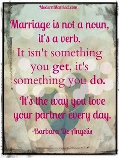 work on your marriage everyday #quote