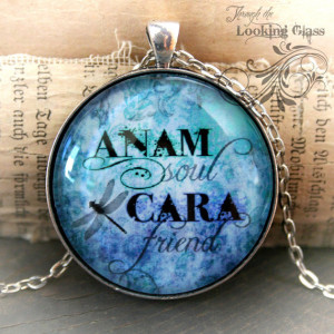 Friendship Gift: ANAM CARA soul friend inspirational Irish Celtic word ...