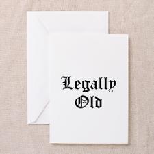 Cute Funny lawyer birthday Greeting Card
