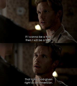 Jason Stackhouse being profound on the season finale of True Blood