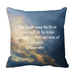 Inspirational Sayings Throw Pillows