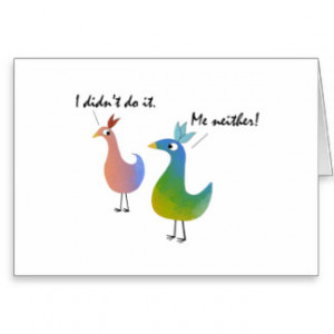Funny Feathers~Personalize a 21st Belated Birthday Greeting Card
