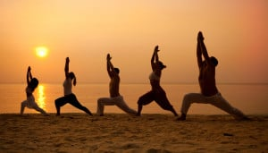 ... yoga and working with people to show them a way to greater health