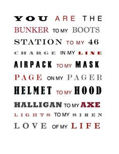 Firefighter, Firefighters Wife, Fireman, Sayings, Family