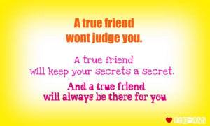 true friend