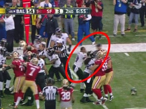 ... For Shoving A Referee Rips The 49ers, Calls Them 'Fake Tough Guys