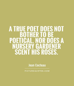 Poetry Quotes Jean Cocteau Quotes