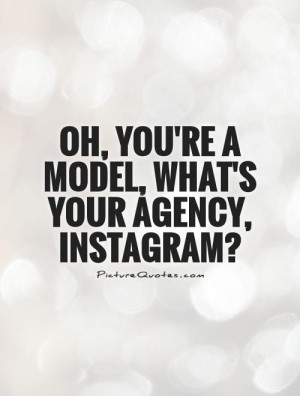 Instagram Quotes Model Quotes