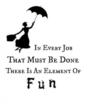 Mary Poppins Quote Printable Instant Download
