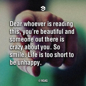 beautiful, crazy, life, life quotes, love smile beautiful, quotes ...