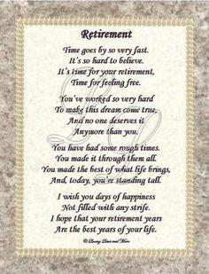 retirement poems pictures more retirement poem retirement gift
