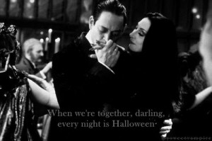 ... TV Halloween show tv show goth adams family Darling the adams family