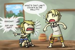 1088 x 723 · 452 kB · jpeg, Legend of Zelda Link Funny
