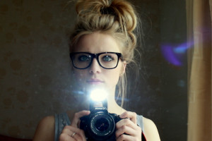 Girl Spectacles
