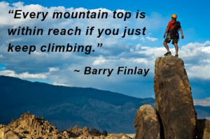 Quotes Of Encouragement For Students Mountain