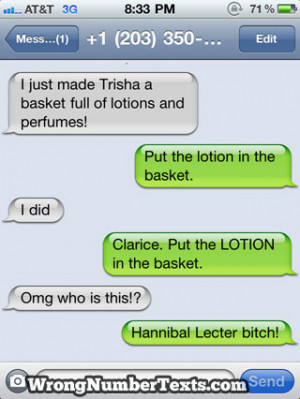 wrong number text 1 The Best Of Wrong Number Texts