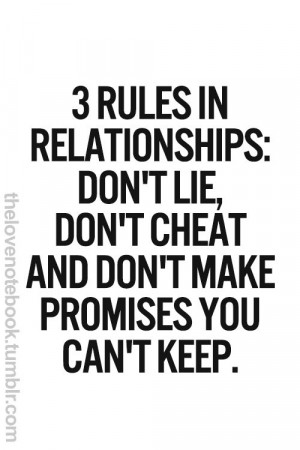 Published September 17, 2014 at 500 × 750 in 3 rules in relationships