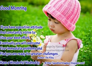 Good Morning Wednesday.. 8 Inspiring Beautiful Quotes..