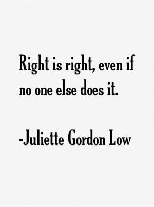 Juliette Gordon Low Quotes & Sayings