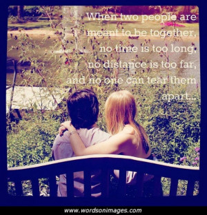 Distant love quotes