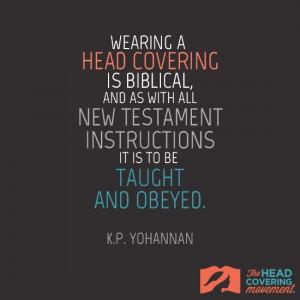 Source: K.P. Yohannan – Head Coverings (Believers Church ...