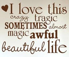 Beautiful life....no matter what.