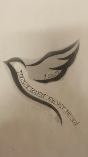 Memorial tattoo for my grandma♥