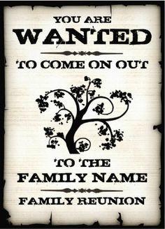 family reunion invitations - free family reunion invitations