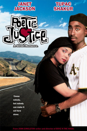poetic justice 1993 cast janet jackson as justice tupac shakur as ...