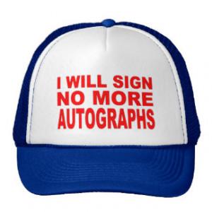 Famous Quotations Hats