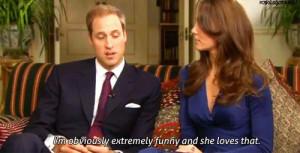 Prince William funny