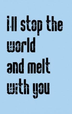 Popular 80s song lyrics