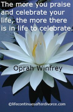Celebrate your life after divorce: http://www ...