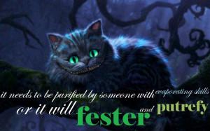 Alice in Wonderland (2010) The Cheshire Cat
