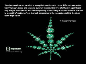 Marijuana Quote by Sebastian Marincolo