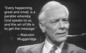 malcolm-muggeridge-quotes-evolution Clinic
