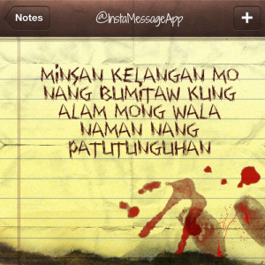 Pinoy Banat Quotes Text Messages http://kootation.com/tagalog-quotes ...